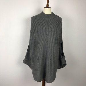 New York & Company Poncho Sweater Flaws L/XL SW164
